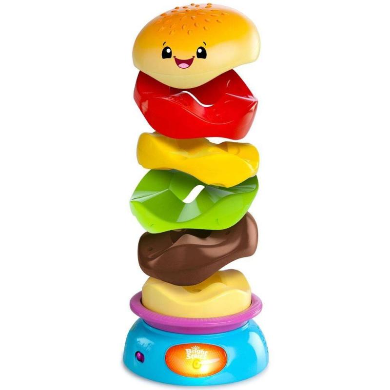 Bright Starts Развивающая игрушка Веселый бутерброд игрушка для животных каскад ежик веселый высота 11 см