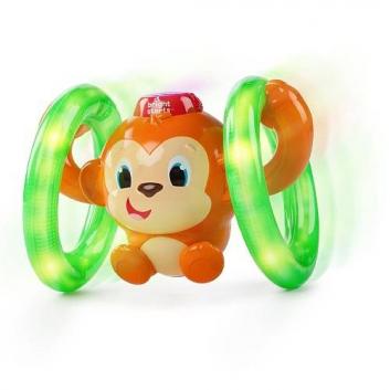 Игрушки, Развивающая игрушка Обезьянка на кольцах Bright Starts 653238, фото