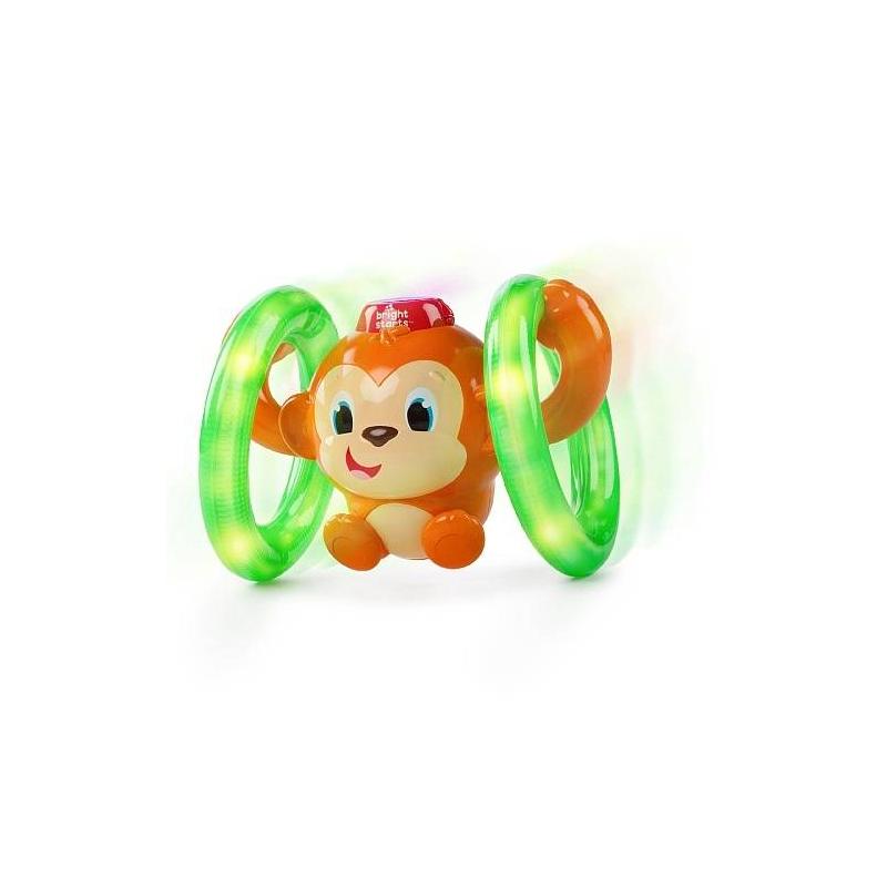 Bright Starts Развивающая игрушка Обезьянка на кольцах развивающая игрушка bright starts развивающая игрушка обезьянка на кольцах