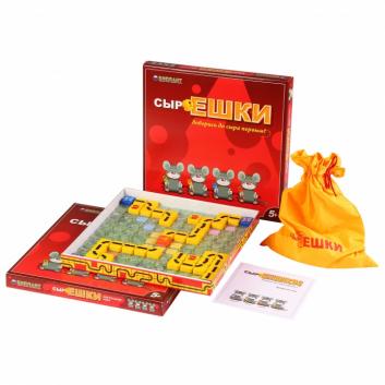 Игрушки, Настольная игра Сыроешки Биплант 658377, фото