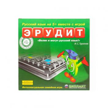 Игрушки, Настольная игра Эрудит Биплант 658362, фото