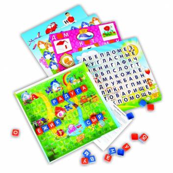 Игрушки, Настольная игра Эрудит Дружные буквы Биплант 658357, фото