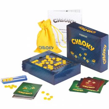 Игрушки, Настольная игра Судоку Биплант 658355, фото
