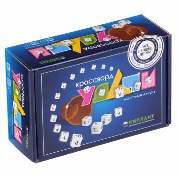 Игрушки, Настольная игра Кроссворд Удачи Биплант 658374, фото