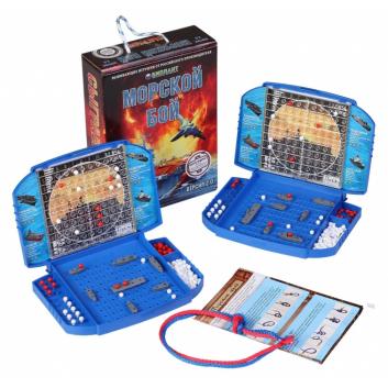 Игрушки, Настольная игра Морской бой версия 2.0 Биплант 658364, фото