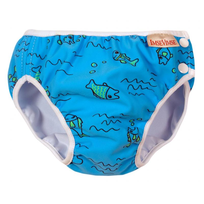 Трусики для купания Turquoise fish