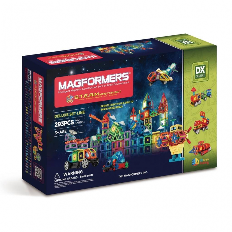 MAGFORMERS Магнитный конструктор S.T.E.A.M. Master guide craft магнитный конструктор better builders career people