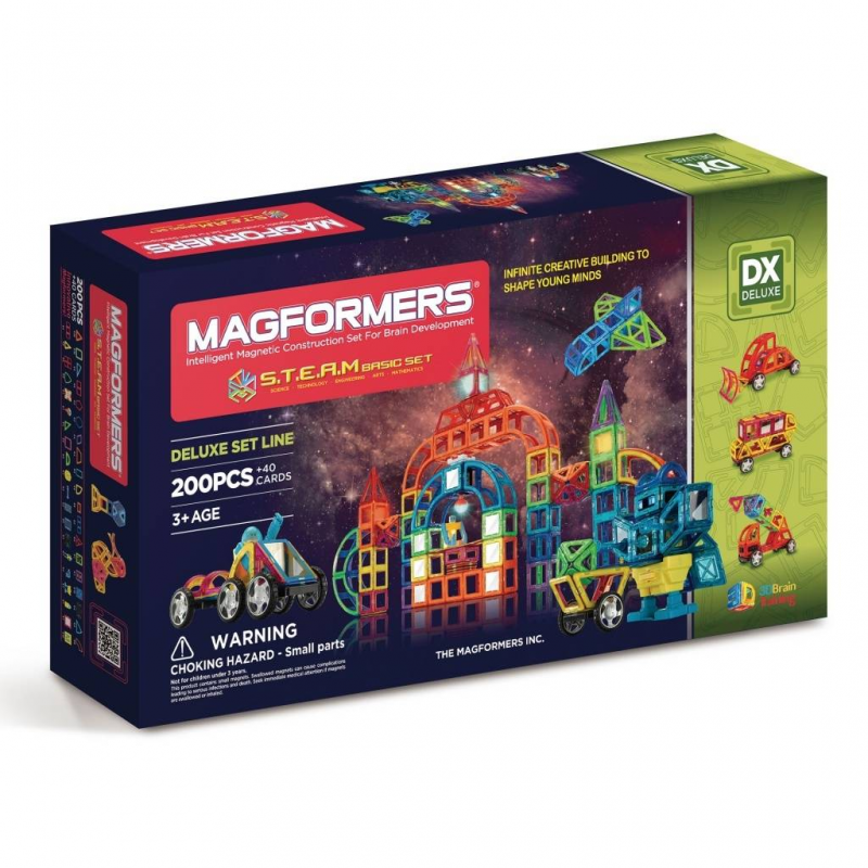 MAGFORMERS Магнитный конструктор S.T.E.A.M. Basic guide craft магнитный конструктор better builders career people