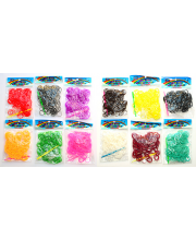 Резинки для плетения Mixed colors в ассортименте Loom Bands