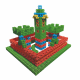 Игрушки, Конструктор Кубус №1 90 элементов Биплант 658451, фото 4