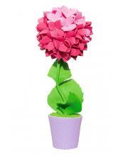 Набор для творчества Топиарий Гортензия розовая Волшебная мастерская