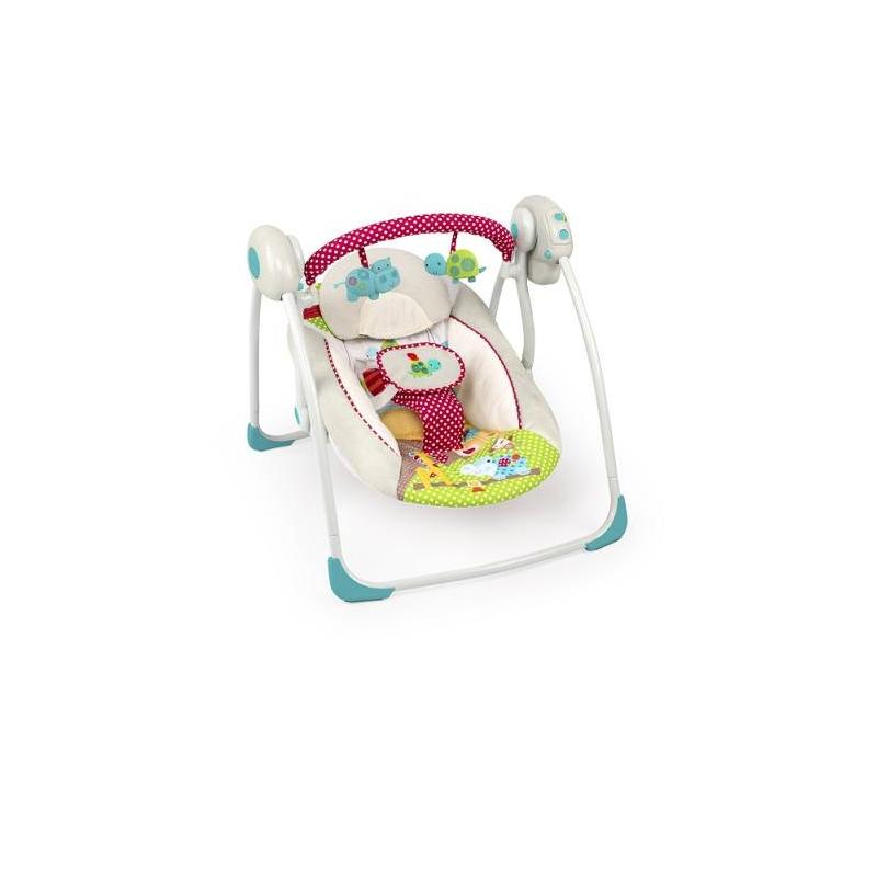 Качели Добрые друзьяКачели Добрые друзья марки Bright Starts.<br>Качели выполнены в нежной расцветке с регулируемым сиденьем в двух положениях. Качели могут раскачиваться с шестью разными скоростями, они оснащены встроенными мелодиями и таймером. Модель дополнена съемной перекладиной с двумя милыми игрушками и мягким подголовником.<br>В кресле малыш надежно фиксируется ремнем, который не сковывает движения ребенка и можно не волноваться за его безопасность. Качели помогут малышу с первых дней своей жизни знакомится с миром в комфорте и с ощущением безопасности, а у родителей, благодаря им, появится больше времени для домашних дел. Имеется возможность установки времени укачивания на: 15, 30 и 45 мин. Качалка проигрывает мелодии и звуки природы с регулировкой громкости.<br>Максимальная нагрузка: 9 кг.<br><br>Возраст от: 0 месяцев<br>Пол: Не указан<br>Артикул: 653247<br>Бренд: США<br>Размер: от 0 месяцев