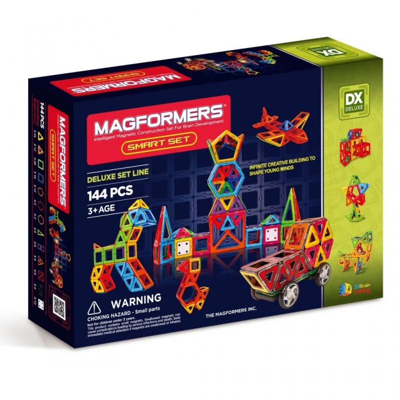 MAGFORMERS Магнитный конструктор Smart set магнитный конструктор magformers space treveller set 35 элементов 703007