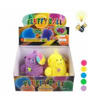 Мяч Медведь со светом в ассортименте S+S Toys