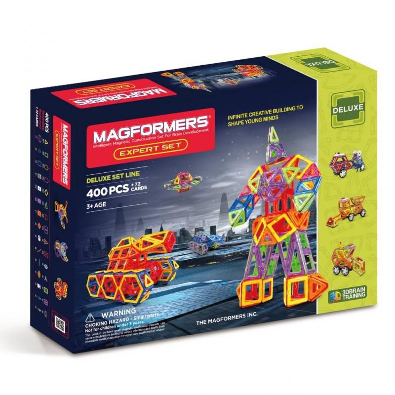 MAGFORMERS Магнитный конструктор Expert Set конструктор magformers transform set