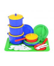 Набор посуды Хозяюшка 14 предметов в ассортименте
