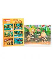 Кубики Майя и ее друзья 12 шт Затейники