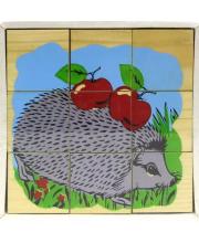 Кубики Животные леса 9 шт ТОМИК