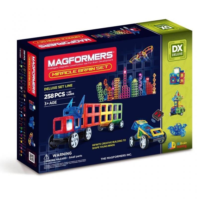 MAGFORMERS Магнитный конструктор Miracle Brain set конструктор magformers transform set