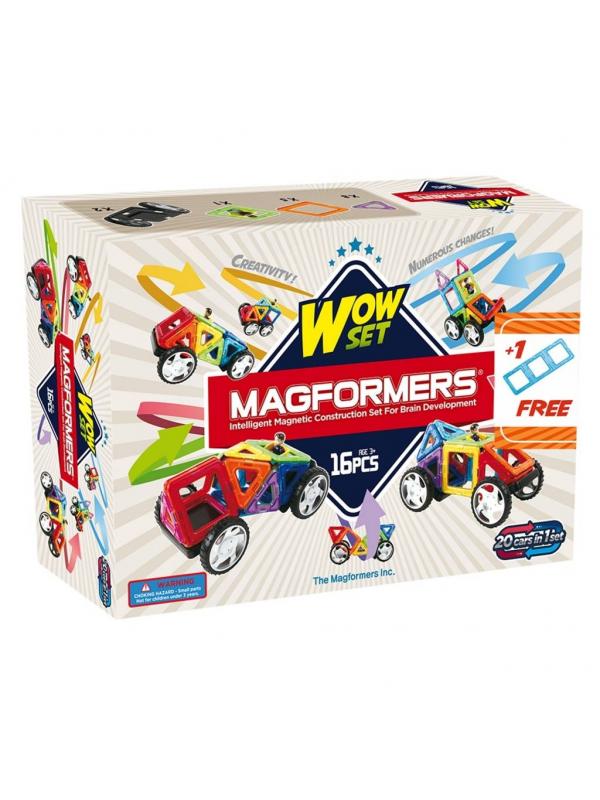 Магнитный конструктор Wow set MAGFORMERS