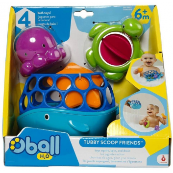 Комплект игрушек для купания Морские друзья