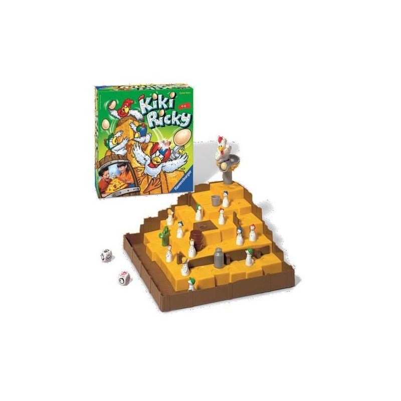 RAVENSBURGER Настольная игра Ку-ка-ре-ку! сувениры рнтойс гнездо с яйцами
