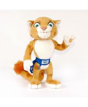 Мягкая игрушка Леопард 28 см Sochi 2014