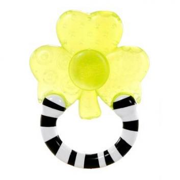 Прорезыватель Полосатое колечко Цветок