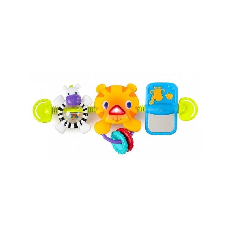 Bright Starts Развивающая игрушка Тигренок погремушки bright starts развивающая игрушка розовый калейдоскоп