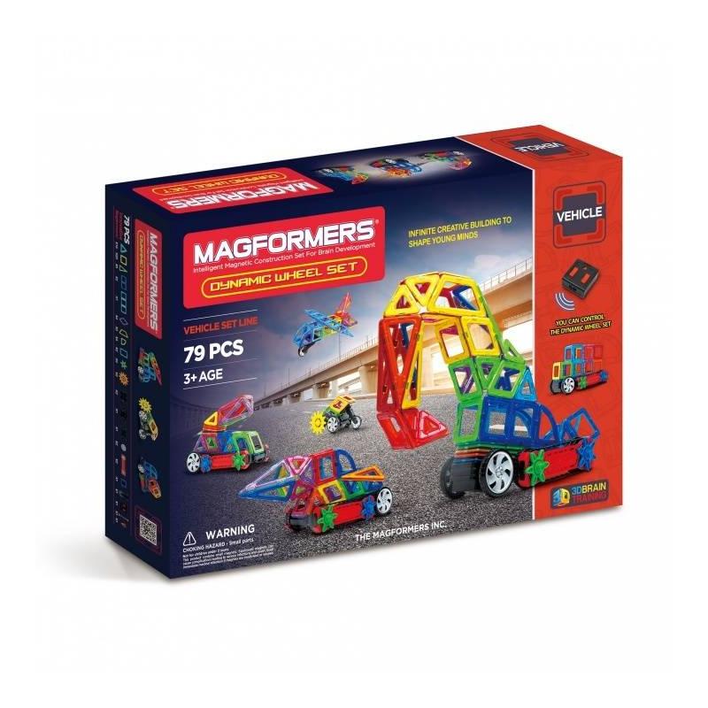 MAGFORMERS Магнитный конструктор Dinamic Wheel Set магнитный конструктор magformers space treveller set 35 элементов 703007
