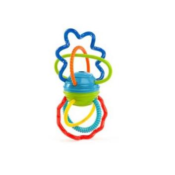 Развивающая игрушка Разноцветная гантелька
