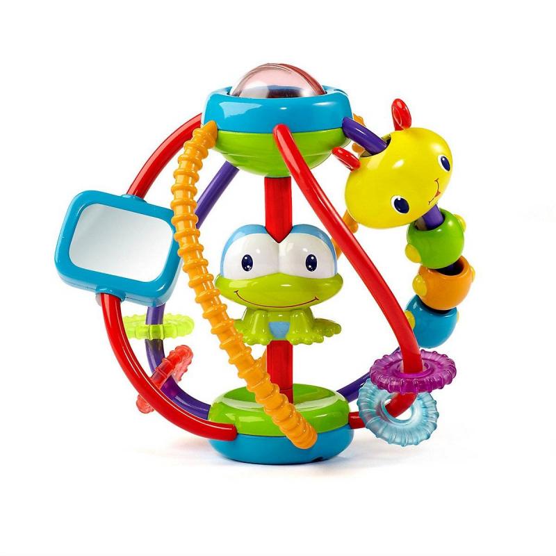 Bright Starts Развивающая игрушка Логический шар погремушки bright starts развивающая игрушка логический шар
