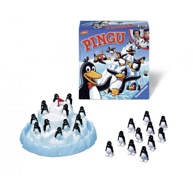 RAVENSBURGER Настольная игра Пингвины на льдине ravensburger настольная игра фигурикс ravensburger