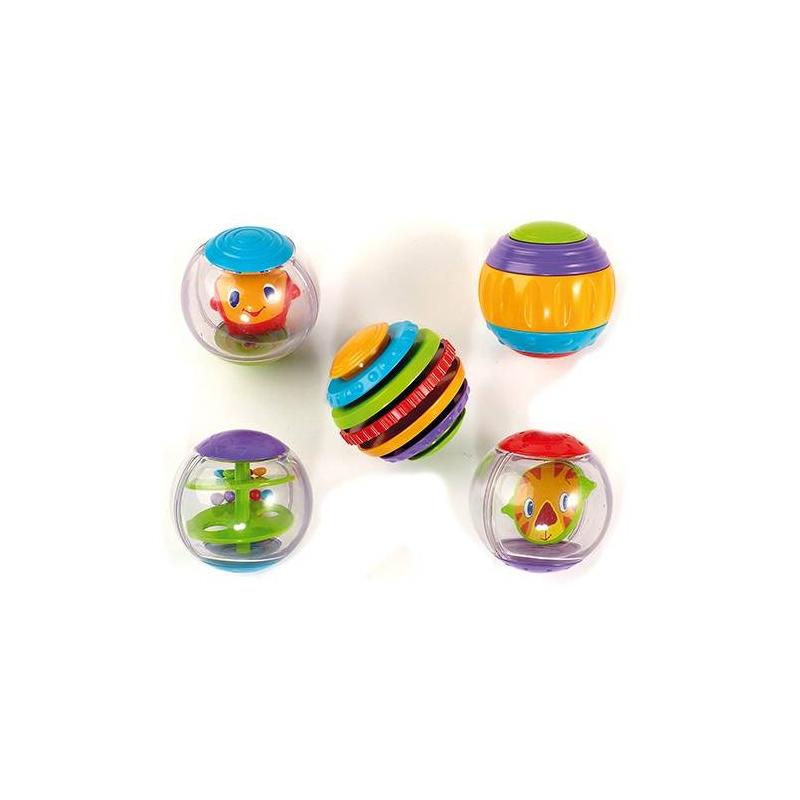 Bright Starts Развивающая игрушка Забавные шарики развивающая игрушка книжка bright starts веселое сафари pl033012r2