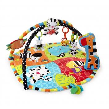 Игрушки, Развивающий коврик Африка Bright Starts 653295, фото