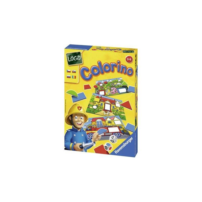 RAVENSBURGER Настольная игра Лого Колорино настольные игры ravensburger настольная игра пачиси hello kitty