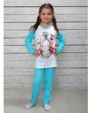 Пижама для девочки Счастливая Малинка