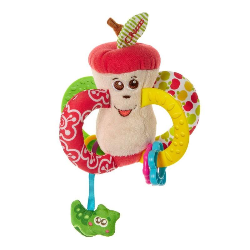 Купить Погремушка Вкусное яблочко, Chicco, от 3 месяцев, Не указан, 653464
