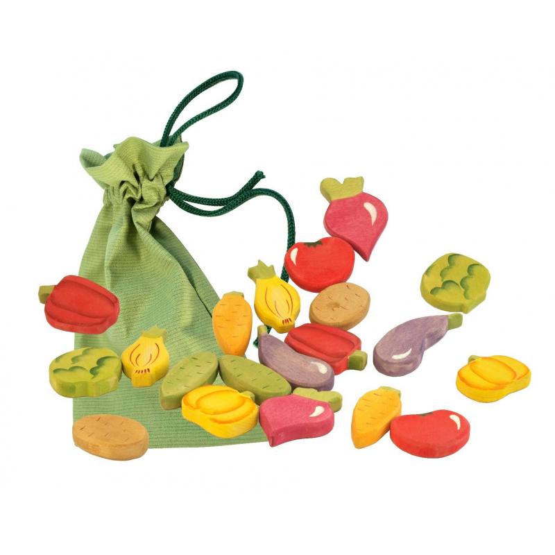 Сказки дерева Игрушка Найди пару Овощи
