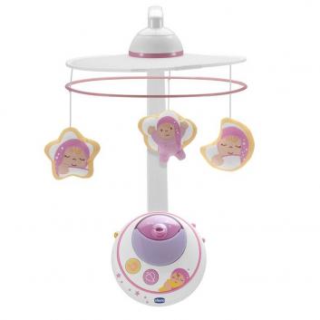 Игрушки, Мобиль Волшебные звезды Chicco (розовый)653479, фото