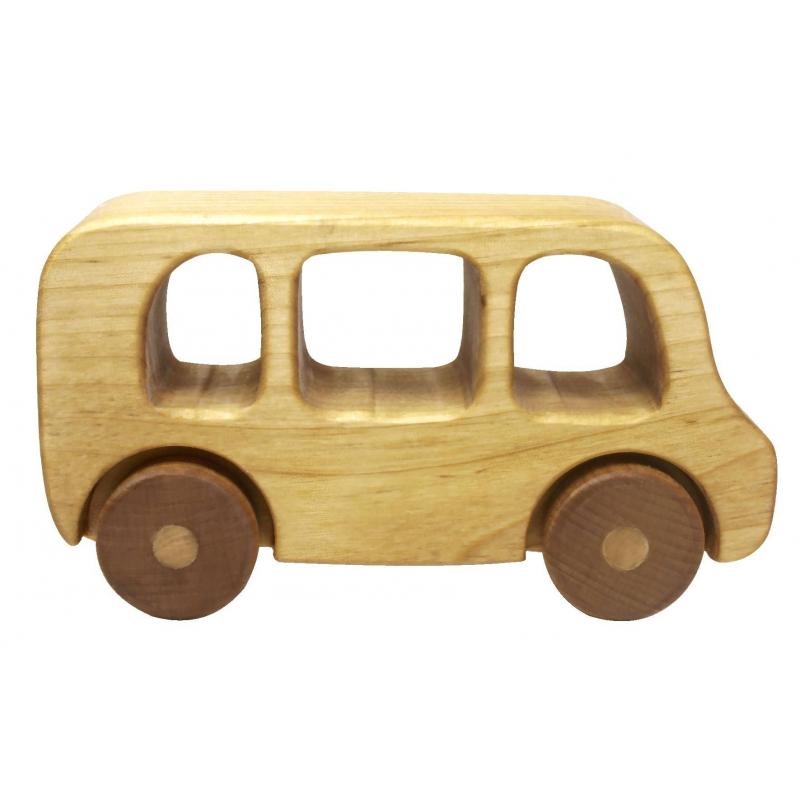 Игрушка-каталка АвтобусИгрушка-каталка Автобусмарки Сказки дерева.<br>Маленькийавтобус, выполненный изцельного дерева, понравится малышам, так как его удобно катать, держась за окошки и крышу.Малышам всегда приятнее держать в руках отшлифованное дерево, на котором нет ни одной неровности или зацепки. Так как игрушка не раскрашена, они смогут проявить свою фантазию и расписать автобус красками или фломастерами.<br>Размеры:13,5х7,5х5см.<br><br>Возраст от: 2 года<br>Пол: Для мальчика<br>Артикул: 647523<br>Бренд: Россия<br>Размер: от 2 лет