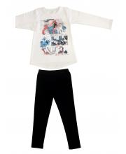 Комплект футболка и леггинсы Счастливая Малинка