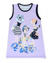 Платье-туника Счастливая Малинка