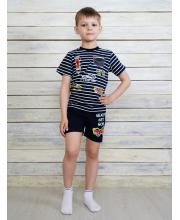Комплект футболка и шорты Счастливая Малинка