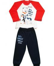 Комплект лонгслив и брюки Счастливая Малинка