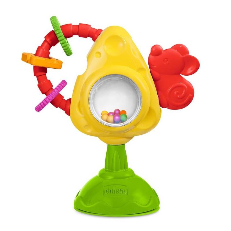 Chicco Игрушка для стула Мышка с сыром и крекерами игрушка музыкальная chicco утёнок 6995 3