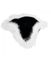 Шляпа Треуголка с перьями Фабрика Деда Мороза