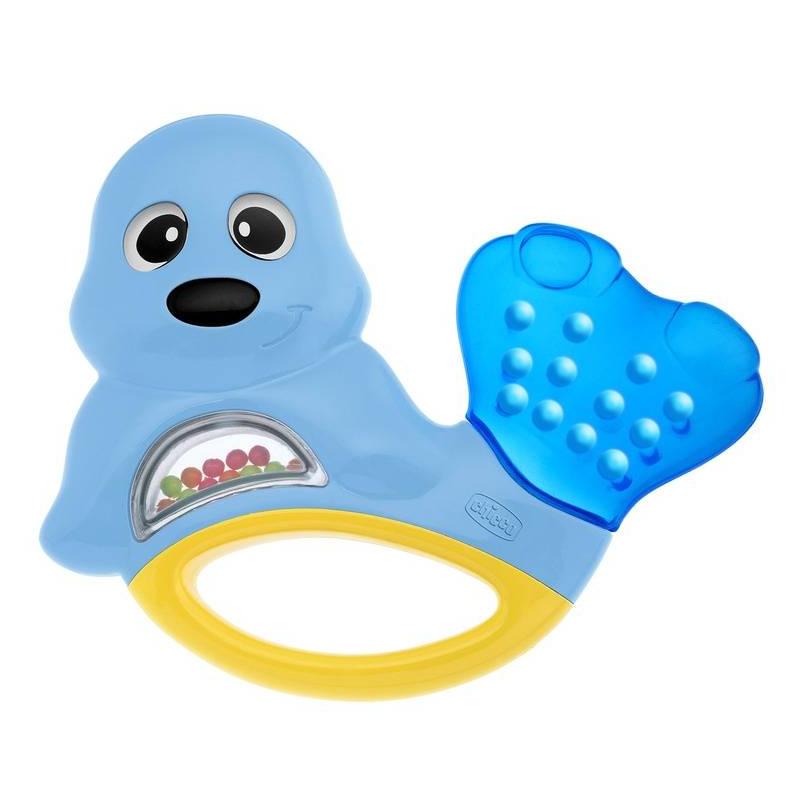 Погремушка ТюленьПогремушка Тюлень маркиChicco.<br>Забавный морской котик успокоит вашего малыша в период роста зубов. Хвостик котика охлаждает руку, а цветные шарики весело позвякивают, когда ребенок их трясет.<br><br>Возраст от: 3 месяца<br>Пол: Не указан<br>Артикул: 653490<br>Бренд: Италия<br>Размер: от 3 месяцев
