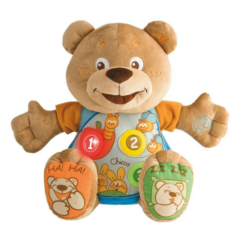 Chicco Интерактивная игрушка Мишка игрушка музыкальная chicco утёнок 6995 3