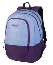 Рюкзак Duel Violet Melange 3 zip